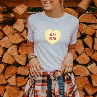 Blah Blah Valentine's Day T-Shirt
