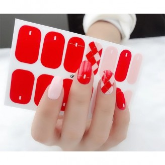 Buckle In Nail Polish Stickers