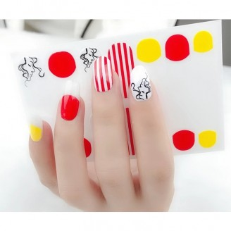 Candy Girl Nail Polish Stickers