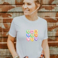 Candy Hearts Valentine's Day T-Shirt