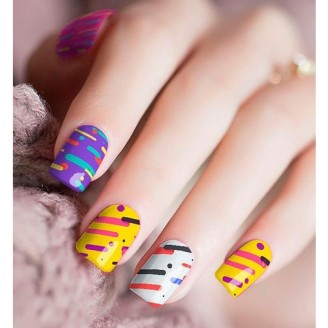 Candy Up Nail Polish Stickers