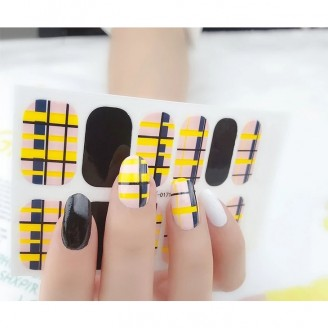Cell Block Nail Polish Stickers