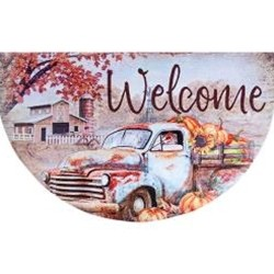 Harvest Truck Welcome Sign