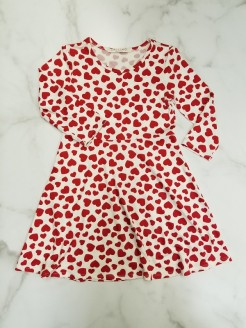 Heart Dress for Girls