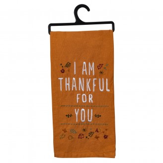 I am Thankful Dish Towel