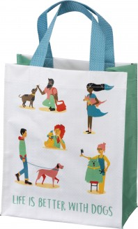 Life is Better with Dogs Tote