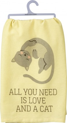 All You Need is Love and a Cat Dish Towel