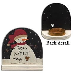Melt My Heart Tealight Holder
