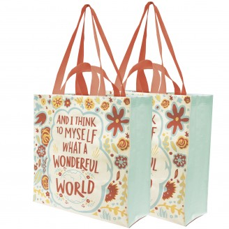 What a Wonderful World Tote
